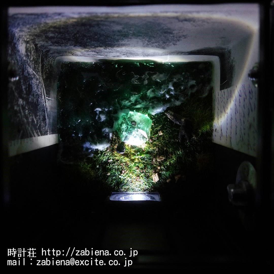 鉱物ジオラマカメラ